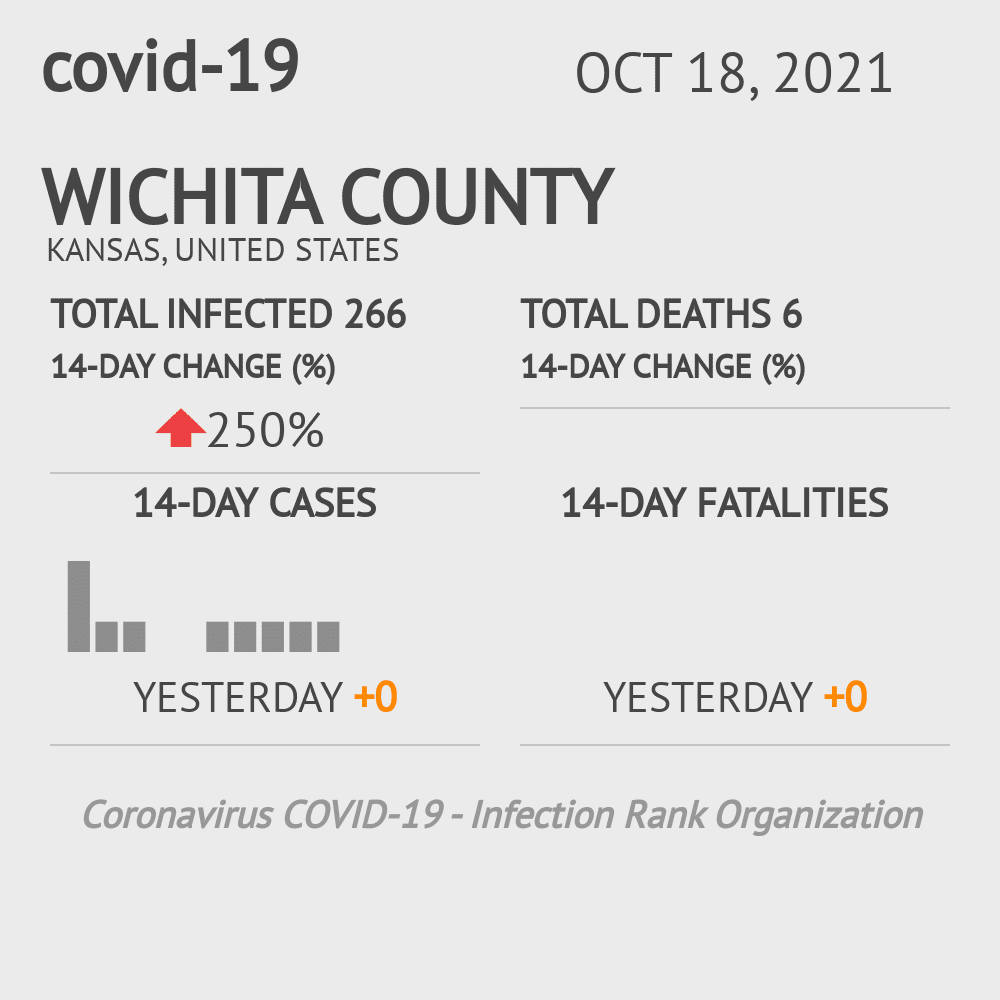 Wichita County Coronavirus Covid-19 Risk of Infection on March 23, 2021